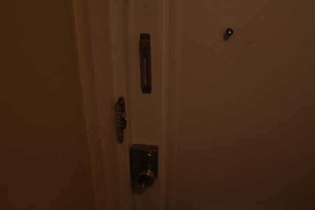 団地のドア