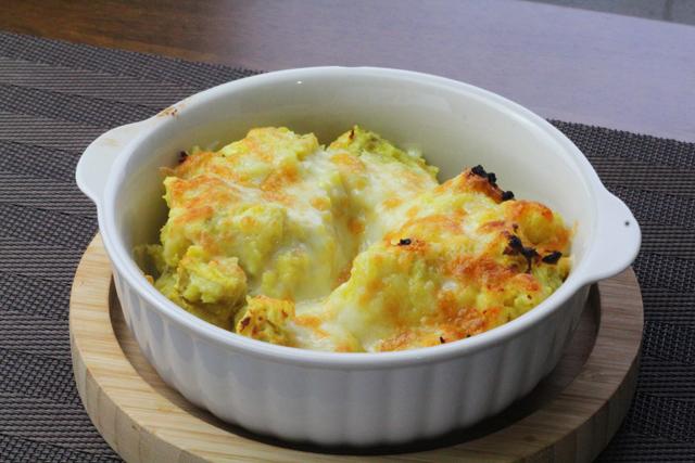 チーズのせスイートポテト