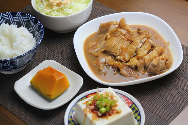 鶏もものポン酢煮