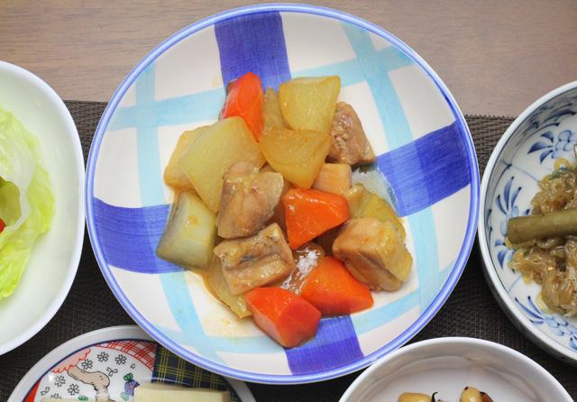 鶏ももと大根の煮物