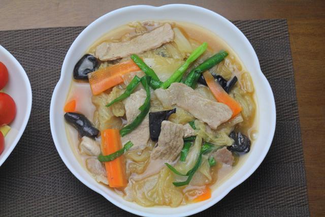 豚肉と白菜の中華うま煮