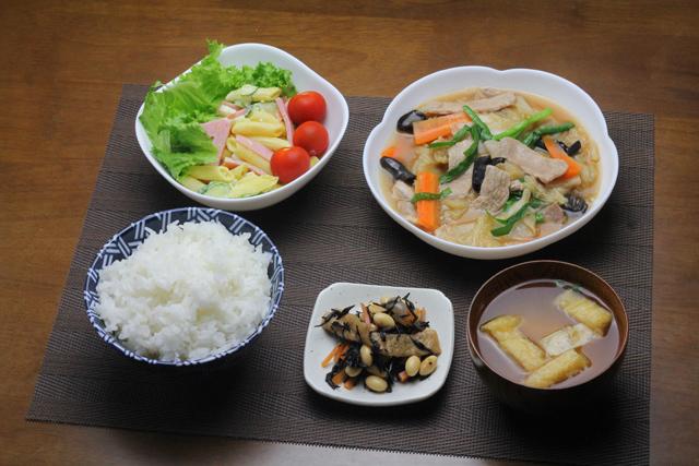 豚肉と白菜の中華旨煮