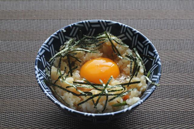 山菜卵ご飯