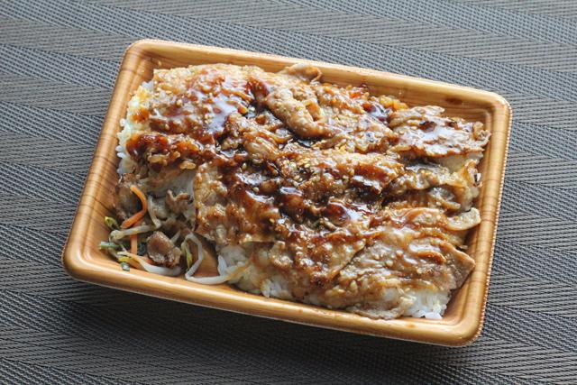 ファミリーマート 特製ダレの炙り焼牛カルビ重