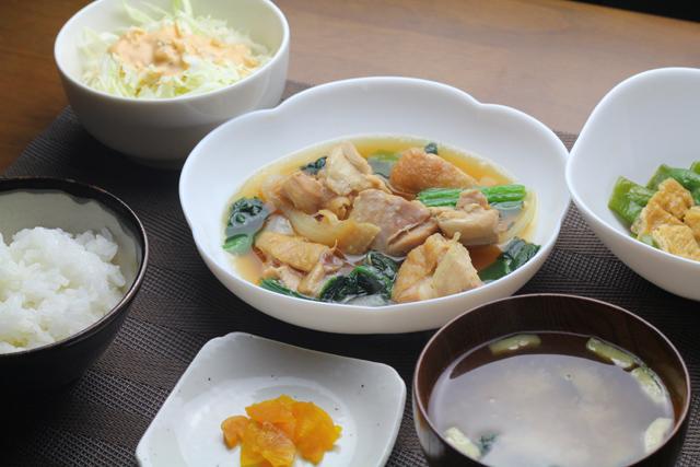 鶏モモの煮物
