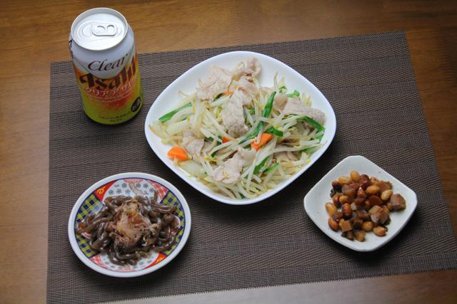 塩肉野菜炒め
