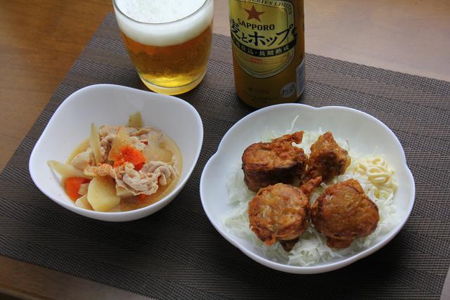 鶏チャーシューの唐揚げ