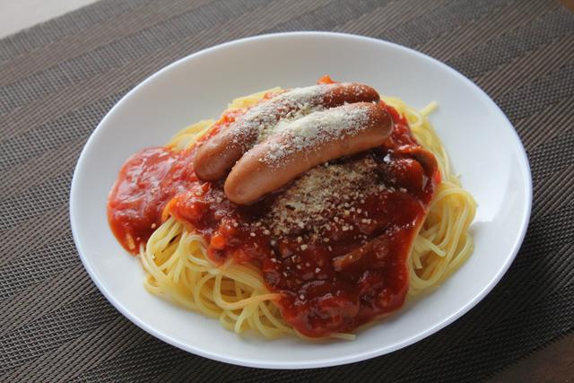ミードソーススパゲティー