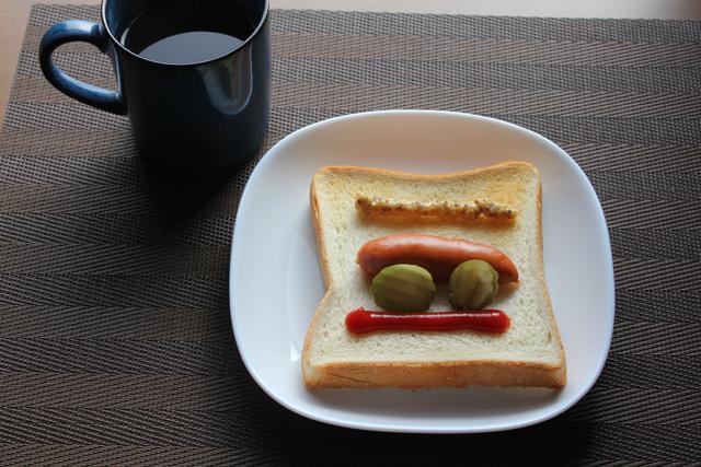 ホットドッグトースト