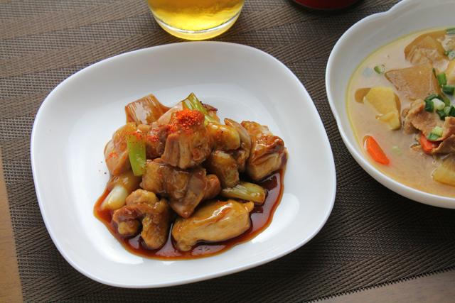 焼鳥と豚汁