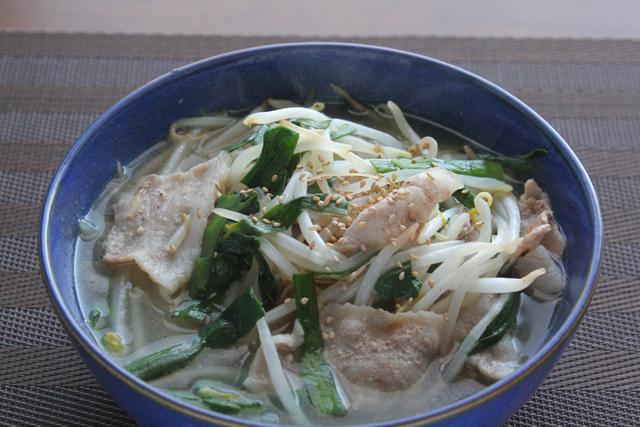 肉野菜炒めラーメン