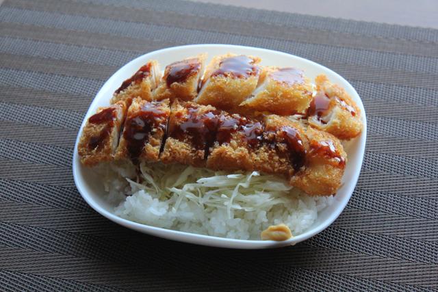 イカフライ丼