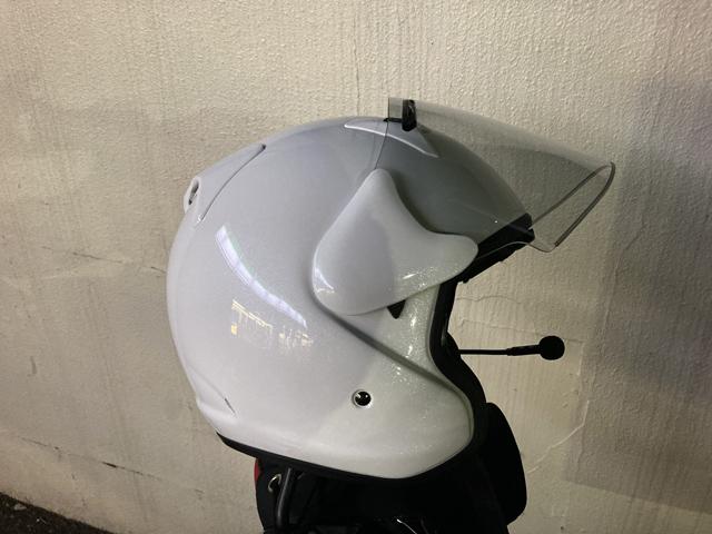 購入したヘルメット