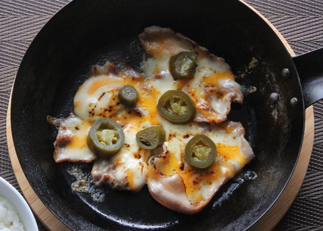 豚モモのチーズ焼き