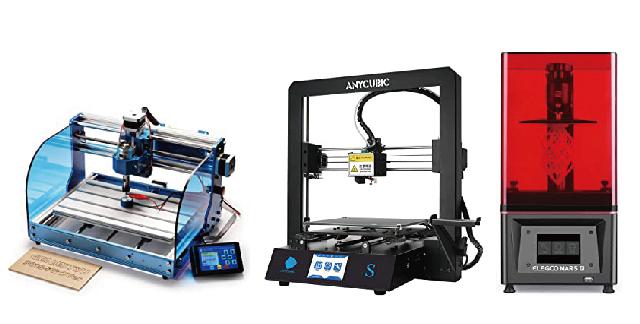 3D出力マシン