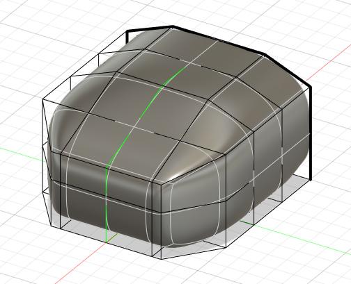 fusion360スカルプトモード