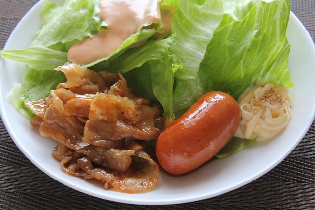 豚バラ焼き肉