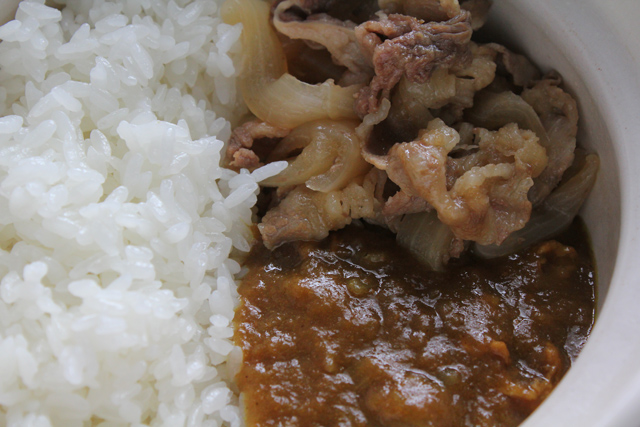 牛カレー丼