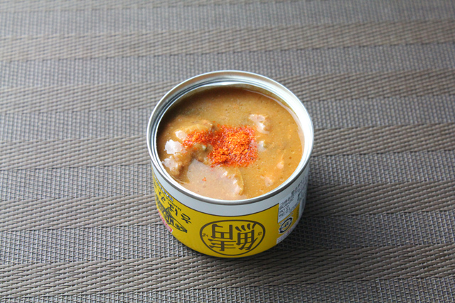 鯖の味噌煮缶