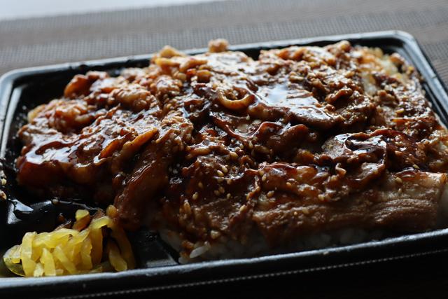 特製ダレの炙り焼牛カルビ重