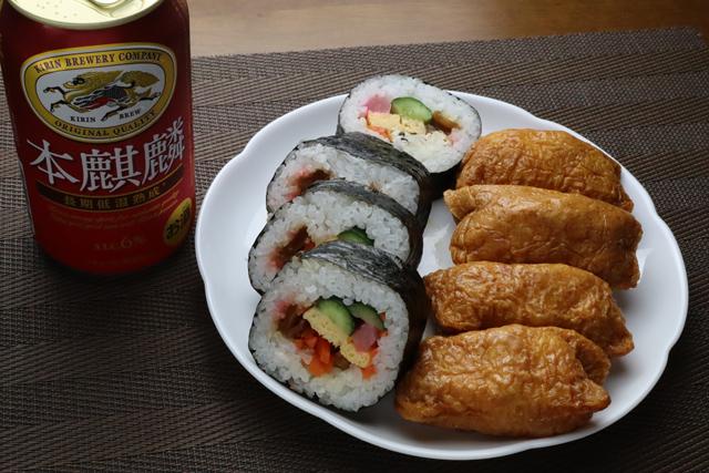 巻き寿司といなり寿司