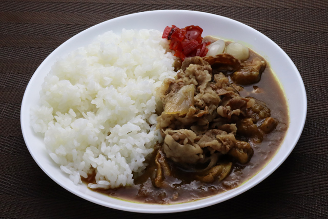 牛丼カレー
